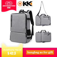 KAKA High Capacity 17.3 inch Laptop Anti theft Backpack Men Business Luggage Shoulder Bags Waterproof Travel Backpacks Schoolbag