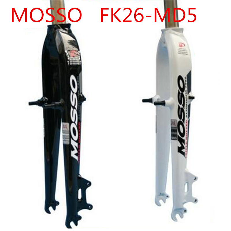 цена на MOSSO mountain Bike Fork 26 Bicycle Fork MTB MD5 Disc Brake +V Brake aluminum alloy Forks