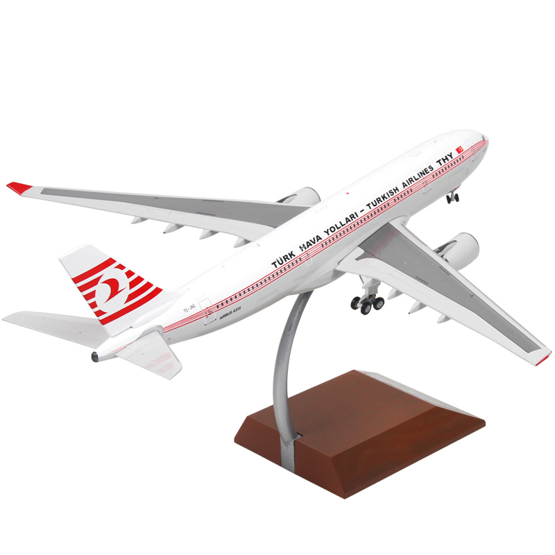 1:200 TURKISH AIRLINES A330 METAL ALLOY MODEL PLANE AIRCRAFT Model Toys Model With Stand Birthday Collection Gifts phoenix 10596 a330 200 b 6538 chinese eastern airlines skyteam no 1 400 commercial jetliners plane model hobby