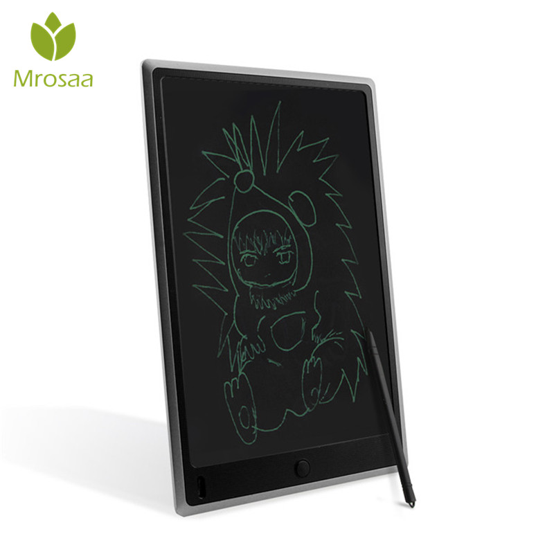 Portable 10 inch Digital LCD Writing Tablet Handwriting Notepad Board Writing Drawing Learning Electronic Pad with Stylus Pen 8 5 inch lcd writing tablet electronic small blackboard with pen portable mini writing drawing tablet board built in battery