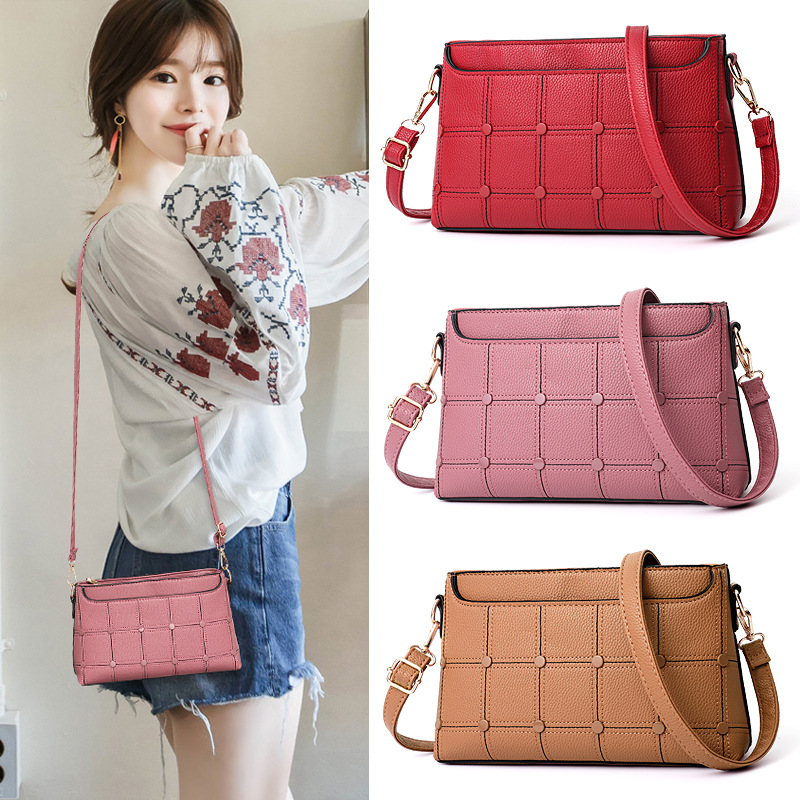 BARHEE New High Quality Leather Women Handbag Luxury Messenger Bag Soft pu Leather Fashion Ladies Crossbody Bags Female Bolsas barhee new stone pattern pu leather women messenger bag crossbody shoulder bags for girls luxury design alligator handbag female