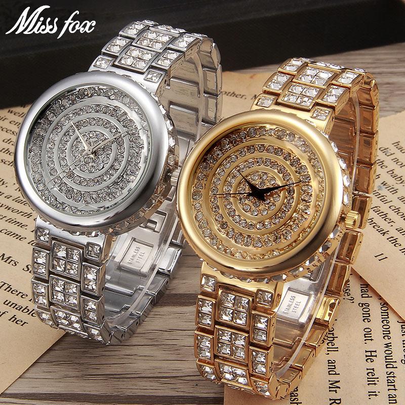 MISSFOX Miss Fox Merk Casual Dameshorloges Zilveren Armband Horloge - Dameshorloges - Foto 5