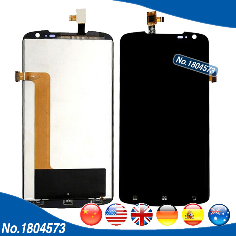 5.3 Inch Full LCD Display + Touch Screen Digitizer Assembly For Lenovo S920 LCD Replacement + Tracking Number 1PC/Lot  new 5 5 inch lcd screen display with digitizer touch screen assembly for lenovo k3 note k50 t5 free shipping tracking number