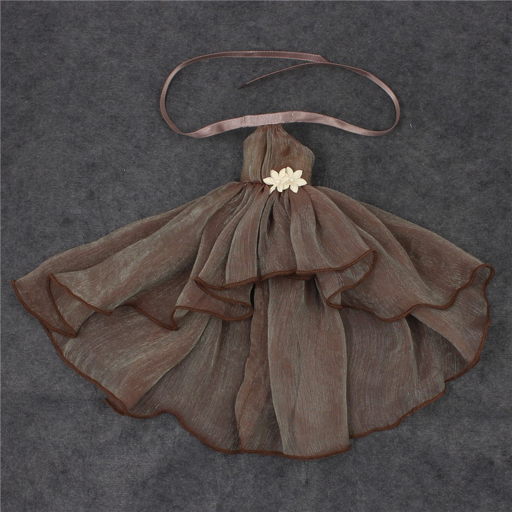 Neo Blythe Doll Chiffon Dress with Flower 24
