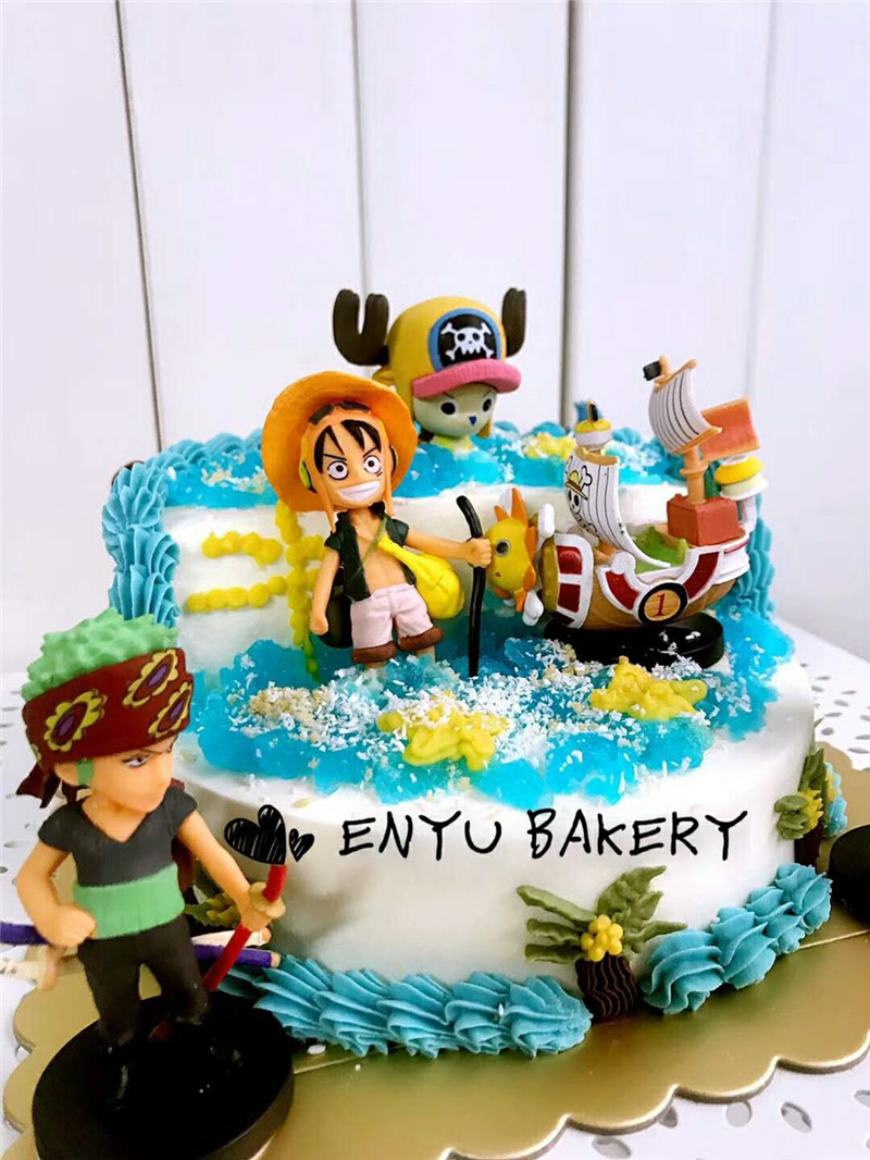 Surprising Pirate Birthday Cake Topper Surprised Birthday Party Supplies Funny Birthday Cards Online Inifofree Goldxyz