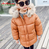 Chifave New Baby Boys Girls Winter Cotton Jacket Hooded Fur Collar Zipper Thick Outerwear Kids Boys