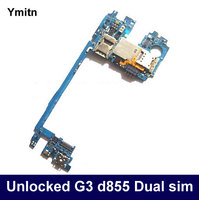 Ymitn Unlocked Mobile Electronic Panel Mainboard Motherboard Circuits Dual Sim With OS Flex Cable For LG