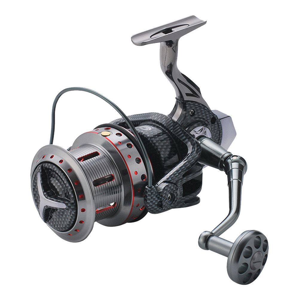 LEO Metal fishing reel 14+1BB Spinning Fishing Reel Metal Gapless fishing reel 9000-11000 Series Spinning Reel Fishing Tackle(China)