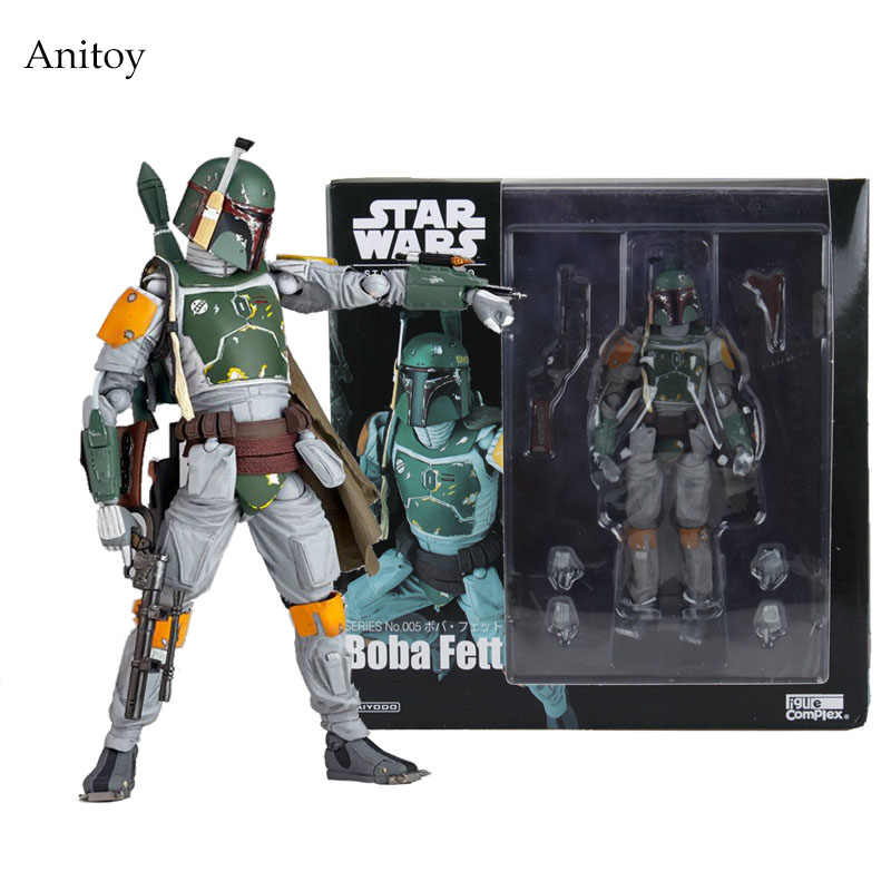 Star Wars Boba REVO 005 PVC Action Figure Collectible Modelo Toy 16 cm KT1283