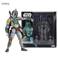 Star Wars REVO 005 Boba PVC Action Figure Collectible Model Toy 16cm KT1283