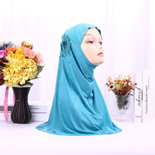 Islamic Women Clothing One-piece Instant HIJAB Plain Turban