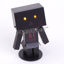 Lovely Danbo Danboard Cos EVA #01 Mini PVC Action Figure with LED Light Collectible Toy 8cm(China)