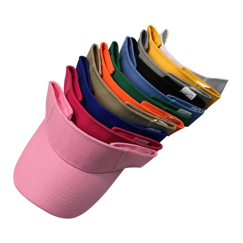 2017 Solid Color Empty Top Hat No Top Sun Hat Quick Dry Exercise Men Women Summer Outdoor Sunscreen Baseball Caps Bone Gorras