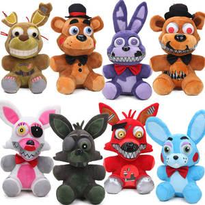 Новинка 25 см FNAF кошмар, медведь Фредди Фокси, Весенняя ловушка, Бонни, плюшевые игрушки пять ночей у Фредди, игрушка, мягкие куклы с животными