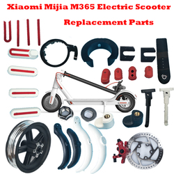 Xiaomi Mijia M365 Electric Scooter Front Rear Fender Kickstand Light Clasped Guard Ring Disc Brakes Pads Repair Replacement Part