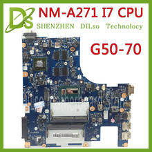 KEFU G50-70 For Lenovo G50-70 Z50-70 i7 motherboard ACLU1/ACLU2 NM-A271 Rev1.0  with graphics card Test pailiang laptop motherboard for lenovo g50 70 pc mainboard i3 aclu1 aclu2 uma nm a272 tesed ddr3