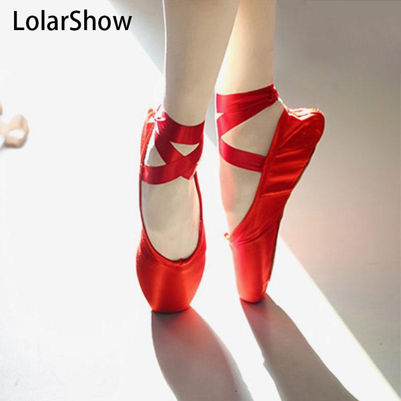 2017Pink Red Ballet Dance Kids Girls