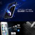Anti-scratch/golpe premium armadura frontal de cristal templado film protector de pantalla para iphone 6/4. 7 pulgadas 9 h dureza 0.3mm delgada