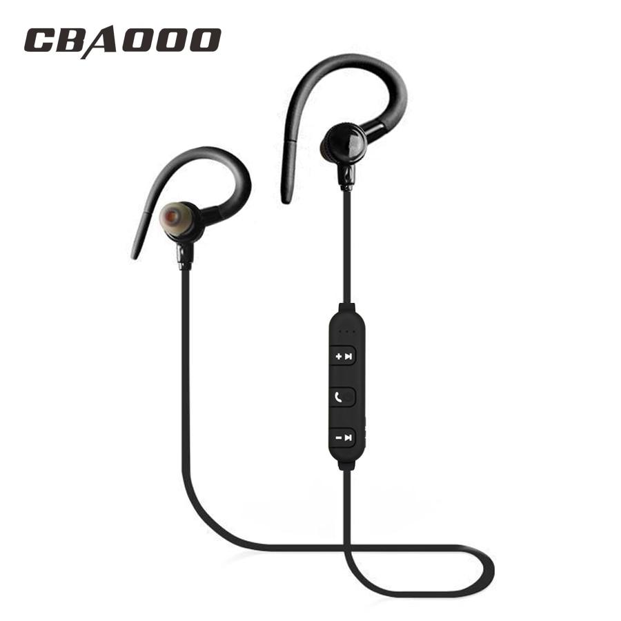 CBAOOO J10 Bluetooth Earphone Sports Wireless Headphones Stereo Bluetooth Headset Earpiece for Phone Xiaomi iPhone Android IOS