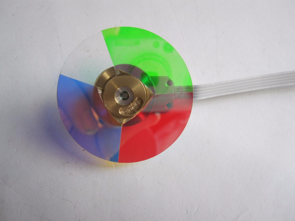Projector Color Wheel 4 Segment Diameter 40MM Fit For ptoma EP728 EP739 EP755 EP758 EP756 цена