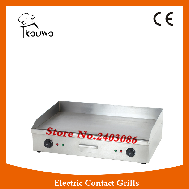 hot sale Commercial kitchen equipment table counter top industrial stainless steel electric flat plate grill griddle дрель greenworks ударный аккумуляторный g24idk2 24v 32047a