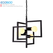 NEW Modern Creative personality Iron Ceiling lamp garden living room lamp restaurant bedroom modern minimalist art Chandelier
