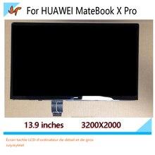 Pour Huawei MateBook X Pro 13.9 pouces écran tactile LCD affichage LPM139M422 A 3 K écran 3000X2000 écran de remplacement