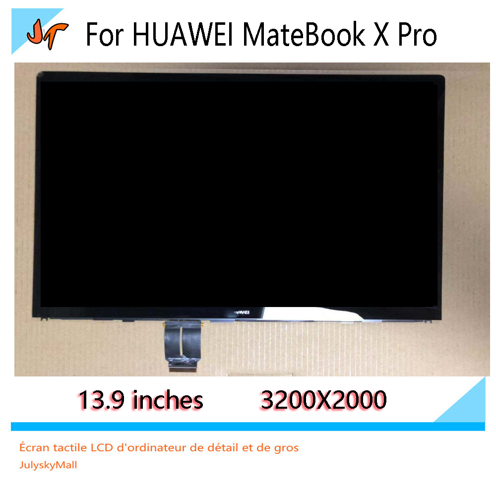 For Huawei MateBook X Pro MACH-W113.9-inch touch screen LCD display LPM139M422 A 3K screen 3000X2000 screen assembly replacement