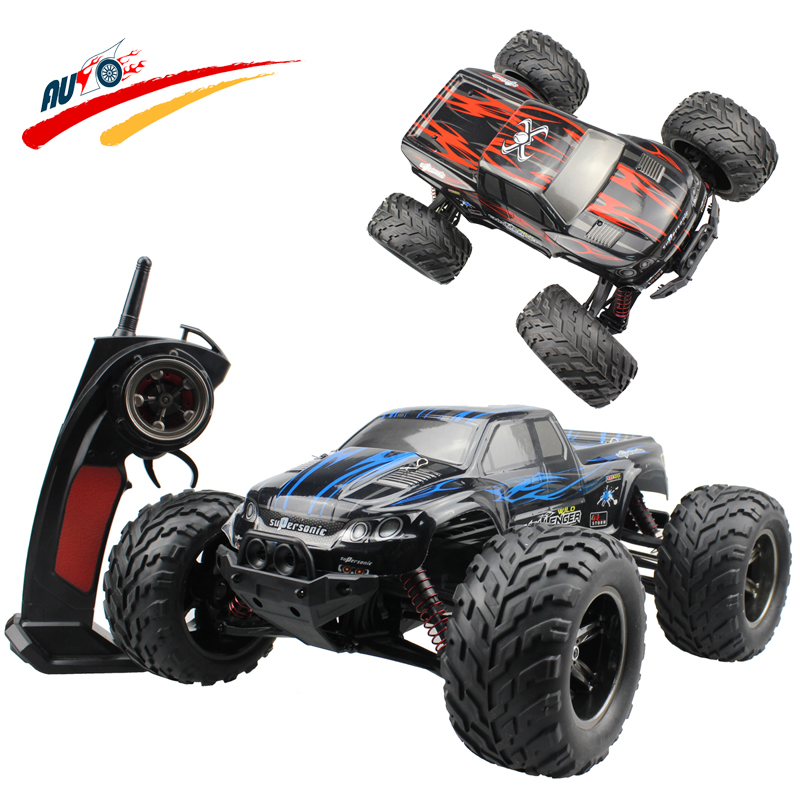 RC Car 40km/h 2.4G High Speed Racing Full Proportion Monster Truck Off road Car Big Foot RC 2WD Buggy Model Vehicle Toy