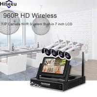 Hiseeu Wireless CCTV System 960P 4CH NVR IP Camera IR CUT Camera Set CCTV Home Security