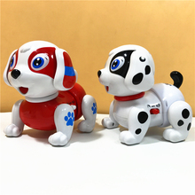 Robot Dog Electronic Pet Dancing Dog Robot Toy Talking Dog Walking Dog with Feeder Kids Gift For Birthday Elctronic Toy for Boys
