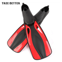 New Adult 2016 Flexible Comfort Swimming Fins Submersible Long Swimming Snorkeling Foot Diving Fins Flippers Water