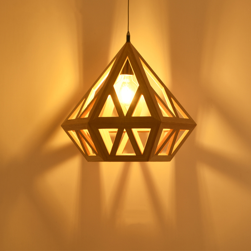 Led Kitchen Pendant Lamp Light Dining & Bar Pendant Lights Japan Wooden Living Room Bedroom Bar Corridor Lighting Hanging Avize