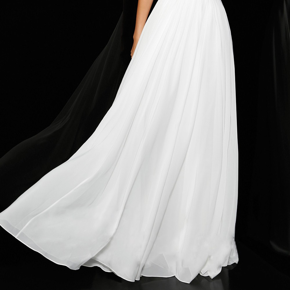PF290-Simple-A-Line-Cap-Sleeve-V-Neck-White-Sequin-Long-Evening-Dresses-2015-Special-Occasion