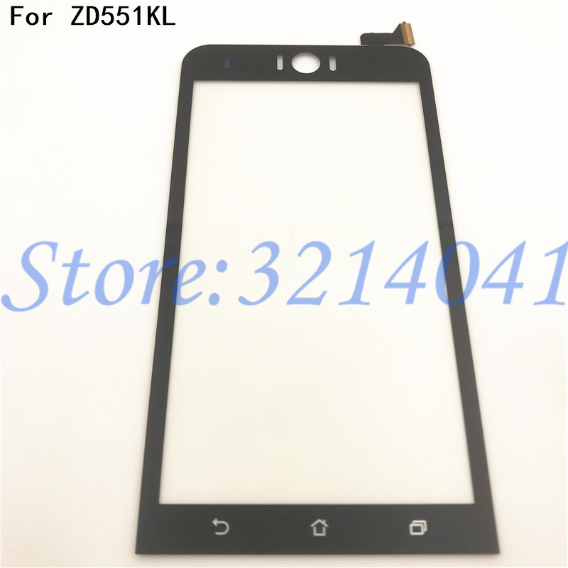 100% Tested 5.5 Inches For Asus Zenfone Selfie ZD551KL Z00UD Touch Screen Digitizer Sensor Front Glass Panel Replacement Parts