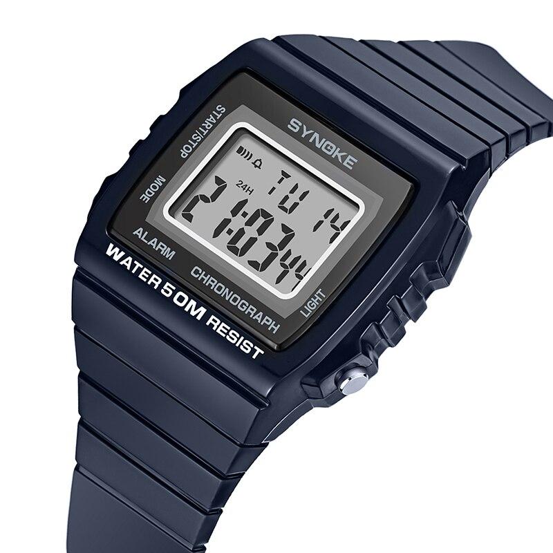 Herrenuhren Digitale Uhren Synoke 2018 Beste Fitness Herren Uhr Digitale G Armbanduhr Luxus Uhr Sport Wasserdichte Schock Vintage Uhren Geschenk Für Männer Uhr