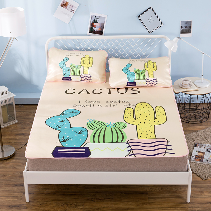 Home Textiles Cactus Printing Pattern Best Mattress Set 24 Diffe Design Bedding 3 Sets Of Mattresses