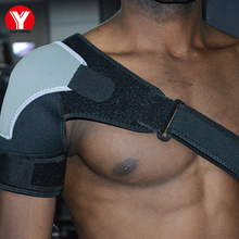 Shoulder Support Strap Adjustable Protector Back Volleyball Fitness Brace Protection