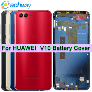 Original for Huawei Honor V10 Back Battery Cover Rear Door Housing Case Middle Frame Replace 5.99