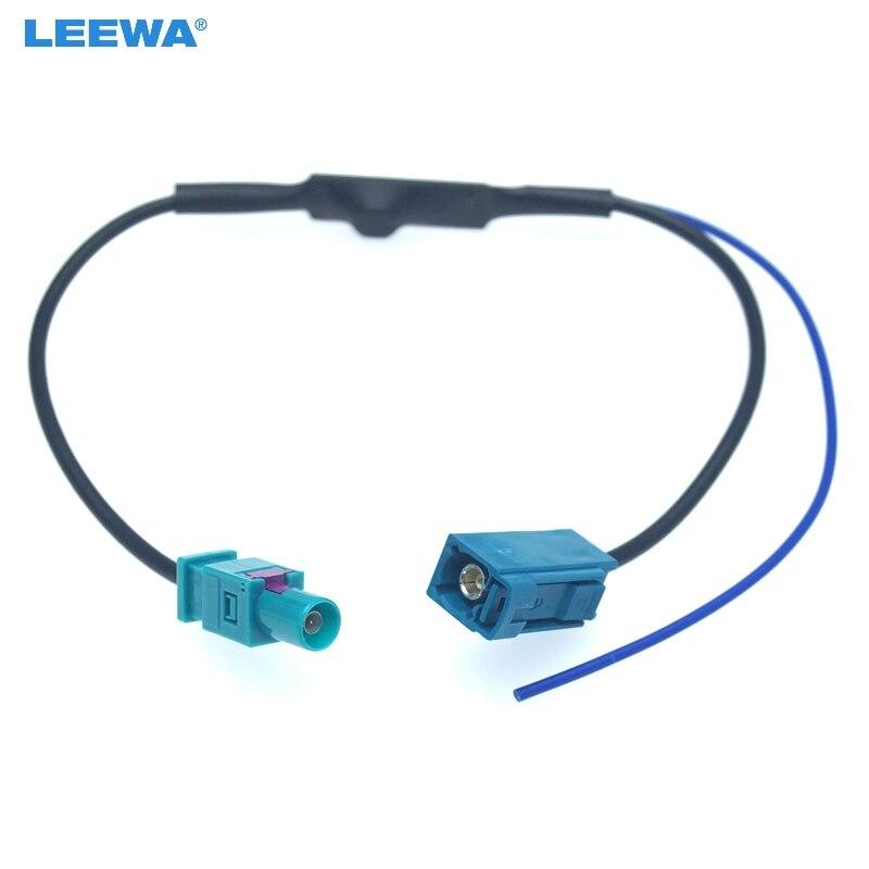 Zócalo doble Twin Doble Fakra a Din Socket Antena Adaptador De Antena