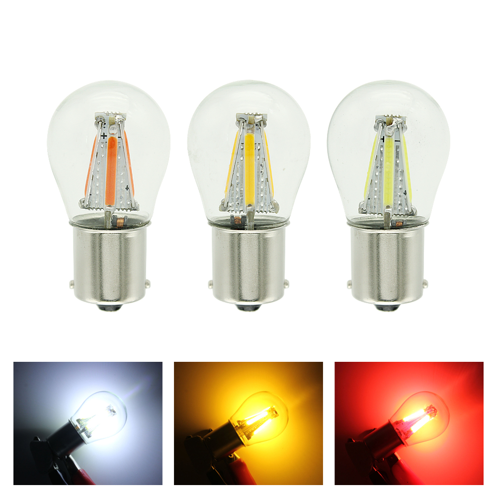 HTB1nM vMXYqK1RjSZLeq6zXppXaR ANBLUB P21W BA15S 1156 1157 BAY15D LED Car Tail Brake Light Bulbs 12V COB Filament Auto Parking Lamp Reverse Bulb DRL Lights