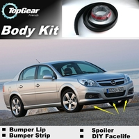 Bumper Lip Lips For Chevrolet Vectra B C 1995~2015 / Top Gear Shop Spoiler For Car Tuning / TOPGEAR Recommend Body Kit + Strip