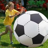 75 CM 130 CM Gigante Inflável Voleibol Futebol Brinquedos Para Crianças Brinquedos de Praia Ao Ar Livre Adulto Jardim Fonte Do Partido bola de Futebol Gigante