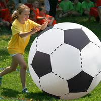 75CM 130CM Gigantic Inflatable Soccer Volleyball Toys For Children Outdoor Beach Toys Adult Garden Party Supply