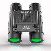 SUNCORE Hunting Military HD 10x22 Binoculars Professional High Quality Telescope Zoom Vision Lightweight Compact Black