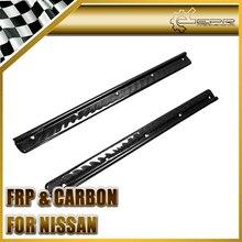 Эпр стайлинга автомобилей для nissan silvia s13 ps13 rps13 180sx углерода дверной порог плиты kick панели автомобильные аксессуары