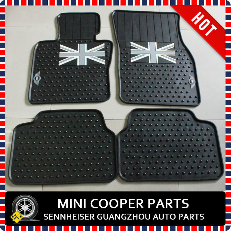 Brand New Anti Skid Rubber Material Black Union Jack Style