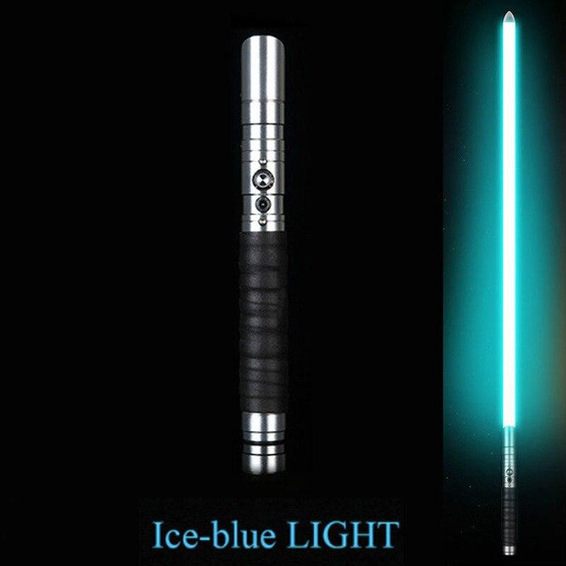 17 Types 100 Cm Cosplay sabre laser avec son Led rouge vert bleu lumière sabre alliage Skywalker épée son Luke jouet cadeaux
