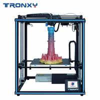 Tronxy X5SA PRO/X5SA-400/X5SA 3D Printer DIY Kits Touch Screen Auto Level Large Print Size heat bed 3d machine Filament Sensor