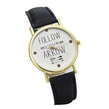 SmileOMG Leather Band Analog Quartz Vogue Wrist Watches ,Aug 18